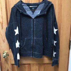 Tommy Hilfiger star-sleeved zip up